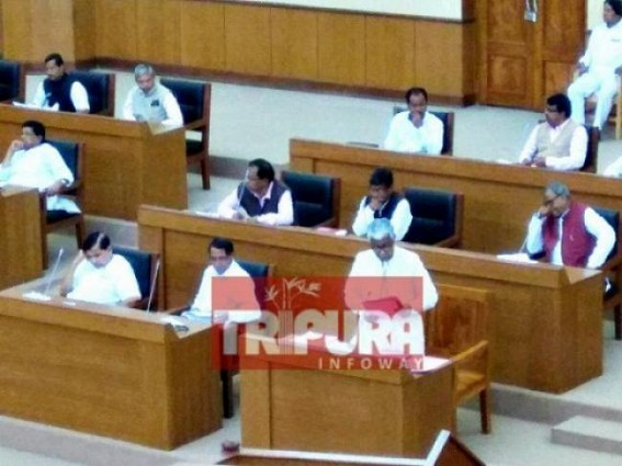 2 Day long Tripura Assembly Session begins. TIWN Pic Nov 13