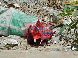 Bomb recovered from Shibnagar. TIWN Pic June 24