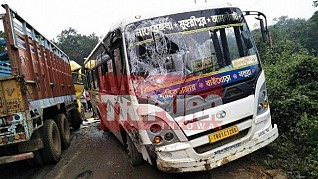 TIWN's National Highway Emergency alert proven true : Lack of Police, Disaster Management staffs leading accidents at Agartala-Sabroom route, many injured