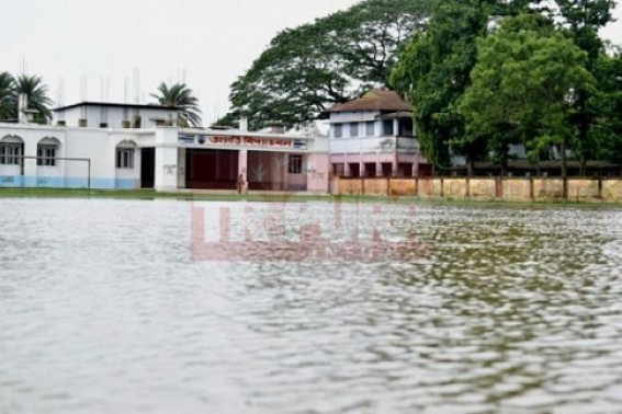 Trouble begins as monsoon starts : Capital City's School Education paralyzed after one day rain