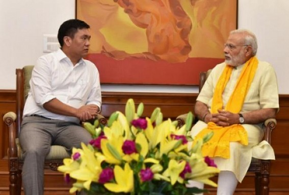 PM Modi meets every CMs personally 6 times in a year to review development' : Arunachal CM hypes Modi Govt's 'work-culture'