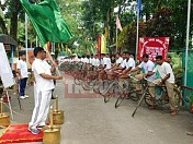 BSF held bicycle rally against 'Drug Abuse & Illicit Trafficking'