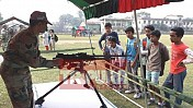 Assam Rifles 21 Bn celebrates Army Day with Udaipur School Students